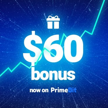 Get $60 for Trading with PrimeBit Live Account